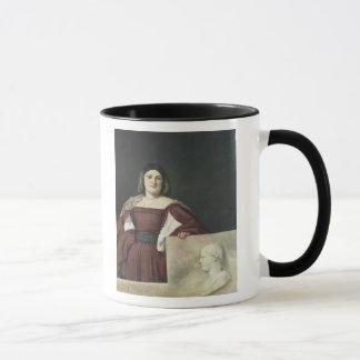 Porträtt av en dam, c.1510-12 mugg