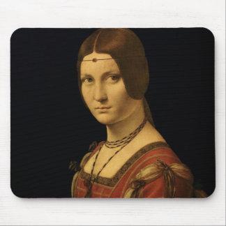Porträtt av en dam från domstolen av Milan Musmatta