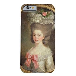 Porträtt av en dam (olja på kanfas) barely there iPhone 6 skal