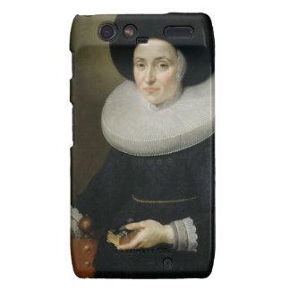 Porträtt av en dam som åldras 47, 1647 (olja på ka