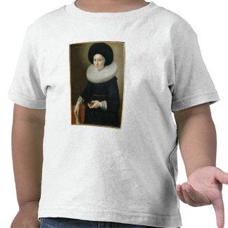 Porträtt av en dam som åldras 47, 1647 (olja på t-shirt
