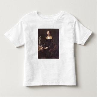 Porträtt av en fin och förnäm dam, 1559 (olja på tshirts