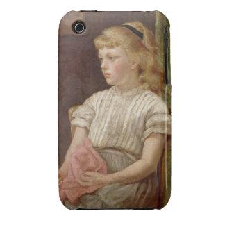 Porträtt av en flicka, 1896 (olja på kanfas) iPhone 3 cover