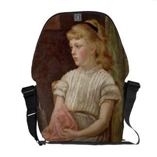 Porträtt av en flicka, 1896 (olja på kanfas) kurir väskor