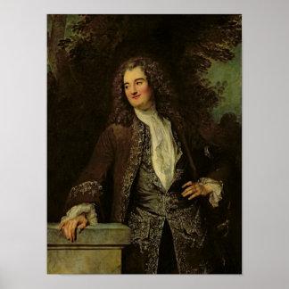 Porträtt av en gentleman eller porträtt av Jean Poster