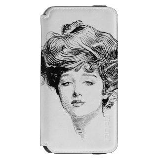 Porträtt av en Gibson Flicka, 1900