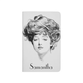 Porträtt av en Gibson Flicka, 1900 Anteckningsbok