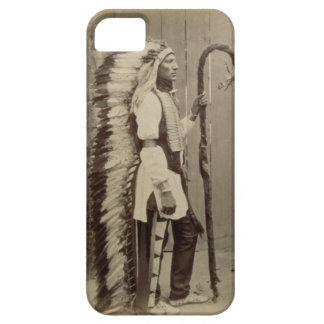 Porträtt av en indian från 'buffelräkning barely there iPhone 5 fodral