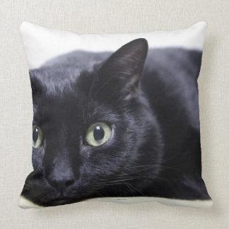 Porträtt av en katt kudde