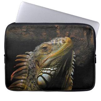 Porträtt av en leguan laptopskydd fodral