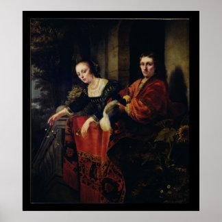 Porträtt av en make och en fru, 1654 poster