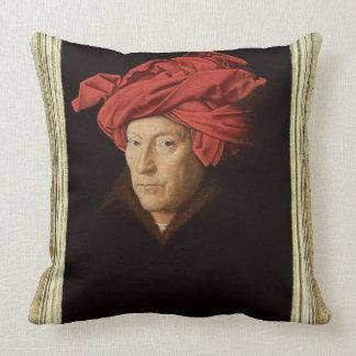 Porträtt av en man, 1433 (olja på oak) (se också kudde