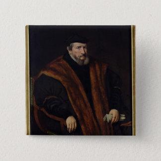 Porträtt av en man, 1564 standard kanpp fyrkantig 5.1 cm