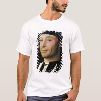 Porträtt av en okänd man tee shirt