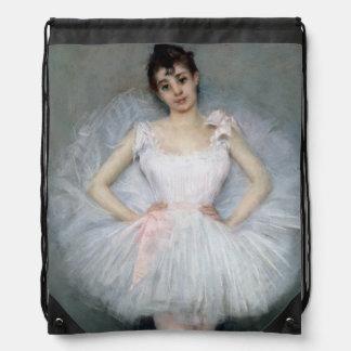 Porträtt av en ung Ballerina Gympapåse
