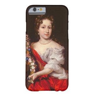 Porträtt av en ung dam (olja på kanfas) barely there iPhone 6 skal
