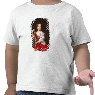 Porträtt av en ung dam (olja på kanfas) tröja