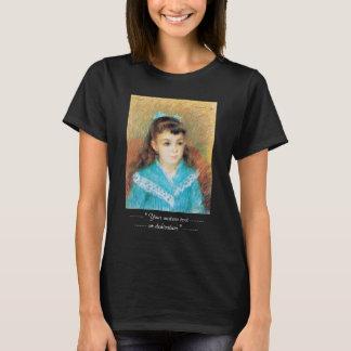 Porträtt av en ung flickaPierre Auguste Renoir T Shirts