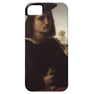 Porträtt av en ungdom med handskar, 1514 (olja iPhone 5 hud