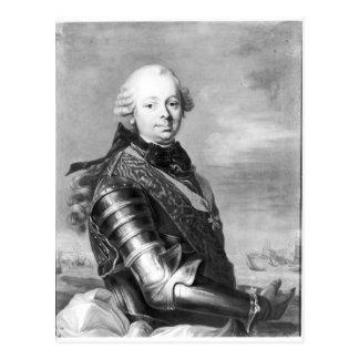 Porträtt av Etienne-Francois, hertig av Choiseul Vykort