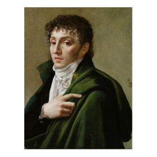 Porträtt av Etienne-Henri Mehul 1799 Vykort