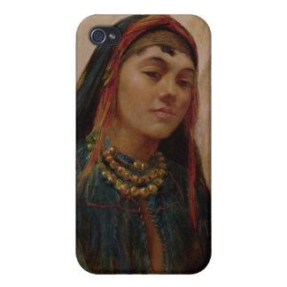 Porträtt av ett mittet - östlig flicka, c.1859 (ol iPhone 4 skal