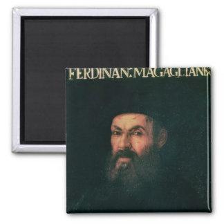 Porträtt av Ferdinand Magellan Magnet