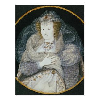 Porträtt av Frances, Countess Howard Vykort