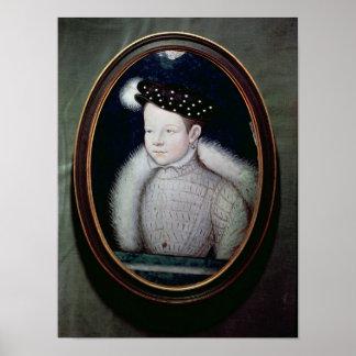 Porträtt av Francis II som Dauphin av frankriken Poster
