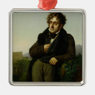 Porträtt av Francois Rene Vicomte Julgransdekorationer