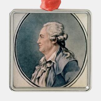 Porträtt av Franz Anton Mesmer Julgransprydnad Metall