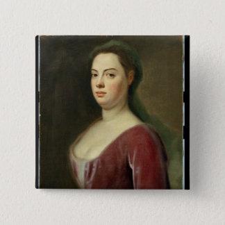 Porträtt av Frau Denner Standard Kanpp Fyrkantig 5.1 Cm
