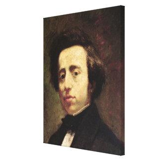 Porträtt av Frederic Chopin 2 Canvastryck