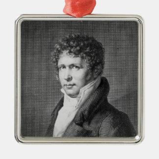 Porträtt av Friedrich Heinrich Alexander Julgransprydnad Metall
