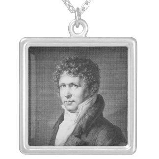 Porträtt av Friedrich Heinrich Alexander Silverpläterat Halsband