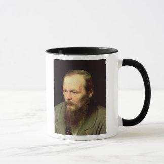 Porträtt av Fyodor Dostoyevsky 1872 Mugg