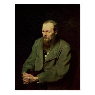 Porträtt av Fyodor Dostoyevsky 1872 Vykort