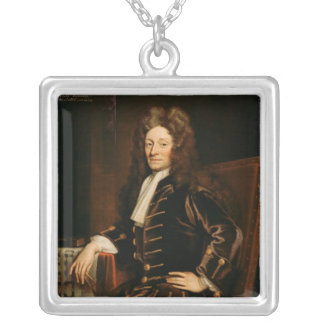 Porträtt av gärdsmygen 1711 för herr Christopher Silverpläterat Halsband