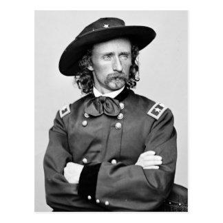 Porträtt av George Armstrong Custer Vykort