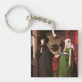 Porträtt av Giovanni Arnolfini och hans fru