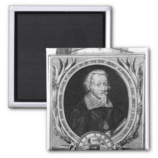 Porträtt av Heinrich Schutz Magnet