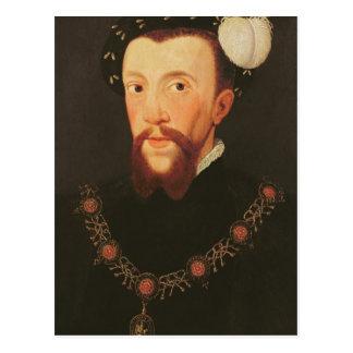 Porträtt av Henry Howard, 1546 Vykort