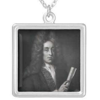 Porträtt av Henry Purcell Silverpläterat Halsband