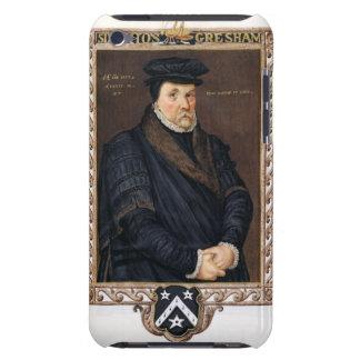 Porträtt av herr Thomas Gresham (c.1519-79) från iPod Case-Mate Case