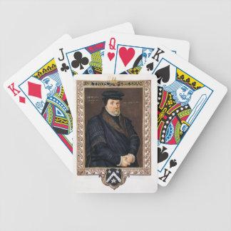 Porträtt av herr Thomas Gresham (c.1519-79) från ' Spelkort