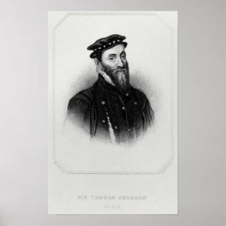Porträtt av herr Thomas Gresham Poster