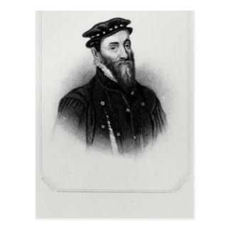 Porträtt av herr Thomas Gresham Vykort