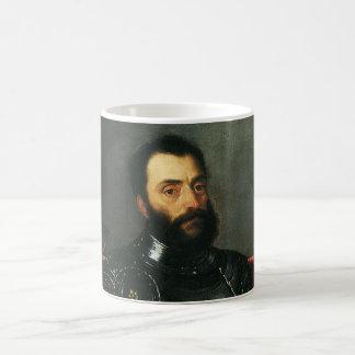 Porträtt av hertigen av Urbino vid Titian Kaffemugg