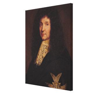 Porträtt av Jean-Baptiste Colbert de Torcy 1667 Canvastryck