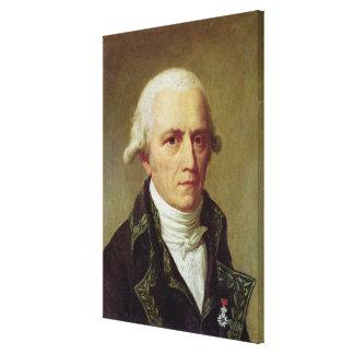 Porträtt av Jean-Baptiste de Monet Canvastryck